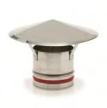 chapeau chinois pour tube en inox 304 simple paroi lock du 80 au 400 mm vm syst me. Black Bedroom Furniture Sets. Home Design Ideas