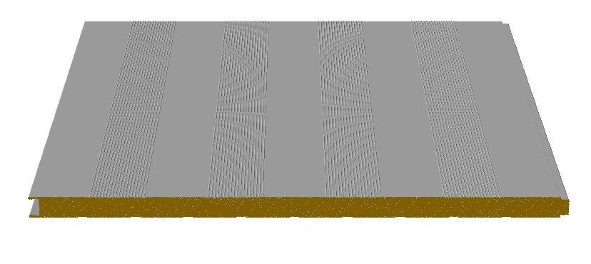 panneaux sandwich autoportant isolants en laine roche pour fa ades perfor en bande mr1000lr pf. Black Bedroom Furniture Sets. Home Design Ideas