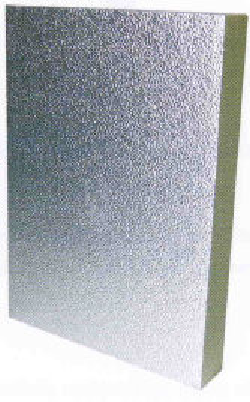 panneaux de mousse polyur thane pur 2 face aluminium 1000x1200x30 mm pur a40 tp mat riaux. Black Bedroom Furniture Sets. Home Design Ideas