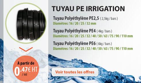 TUYAU PE IRRIGATION