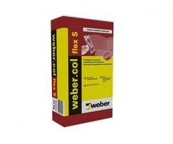 Weber Col Flex Gris Colle Carrelage Extérieur Sac 25kg